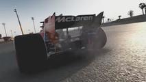 Fallo de motor de McLaren