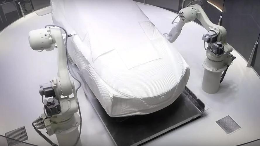 Watch Robots Carve Out Nissan's Leaf-Based Electric CUV