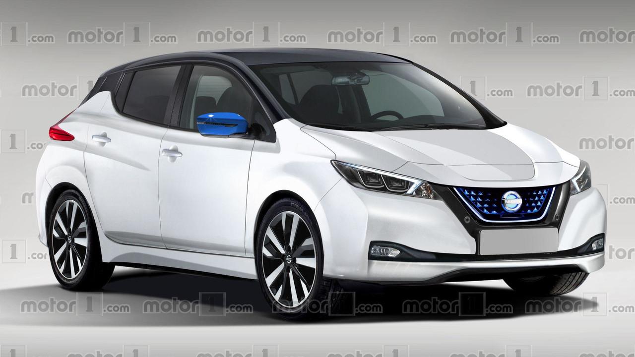 2018 Nissan Leaf render