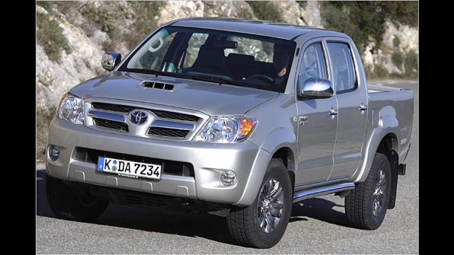 Im Nerzmantel in den Stollen: Toyota Hilux 3.0 D-4D im Test