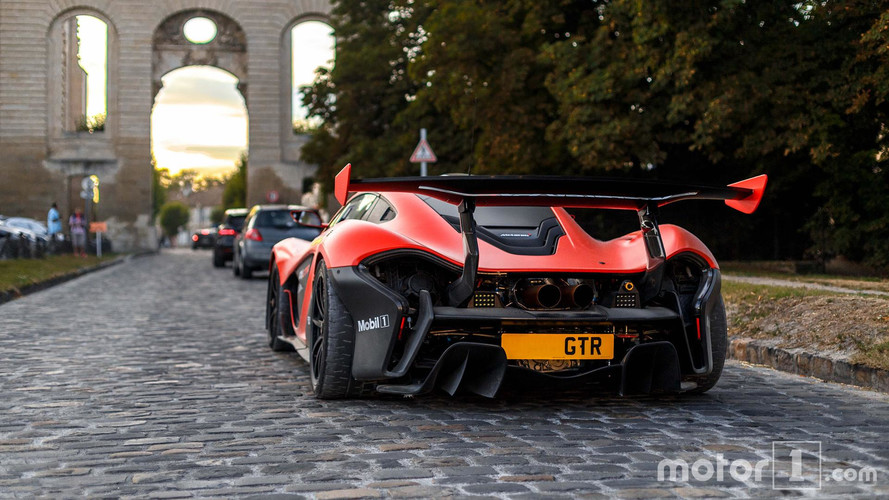 PHOTOS - Une rarissime McLaren P1 GTR LM devant notre objectif
