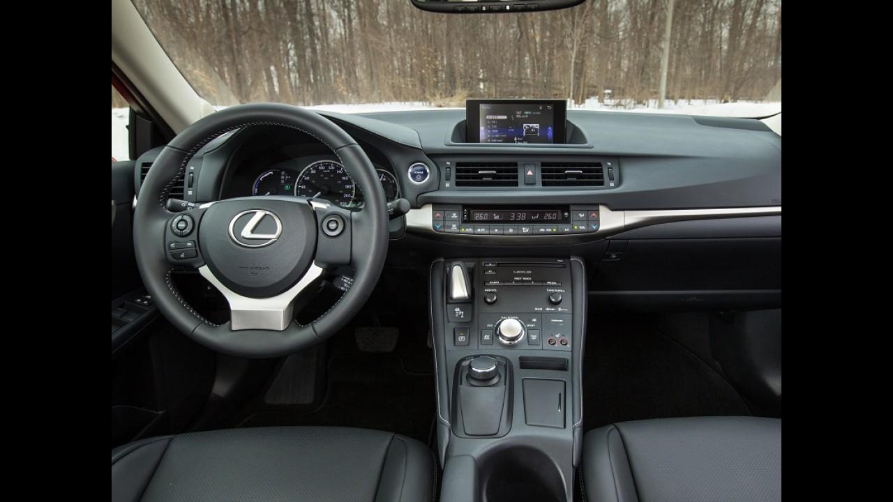 Lexus CT200H fica mais barato e parte de R$ 127 mil no Brasil