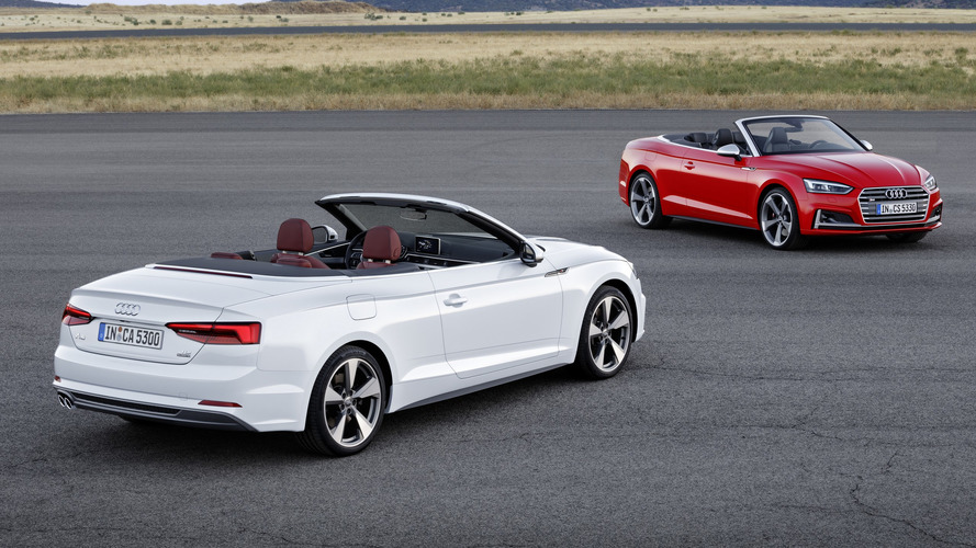 2017 Audi A5 / S5 Cabriolet debuts with oh-so familiar design