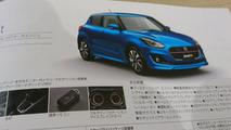 Suzuki Swift 2017 catálogo