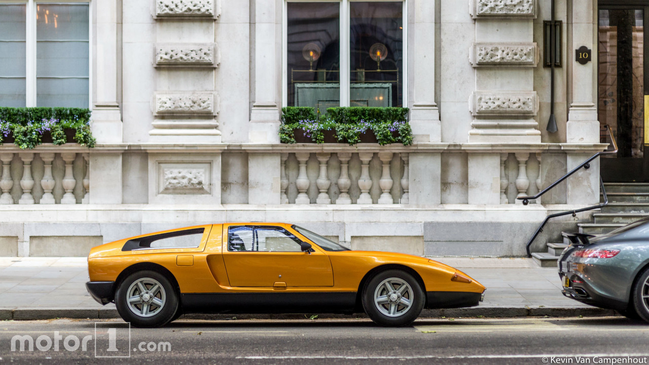 La Mercedes C111 surprise à Londres