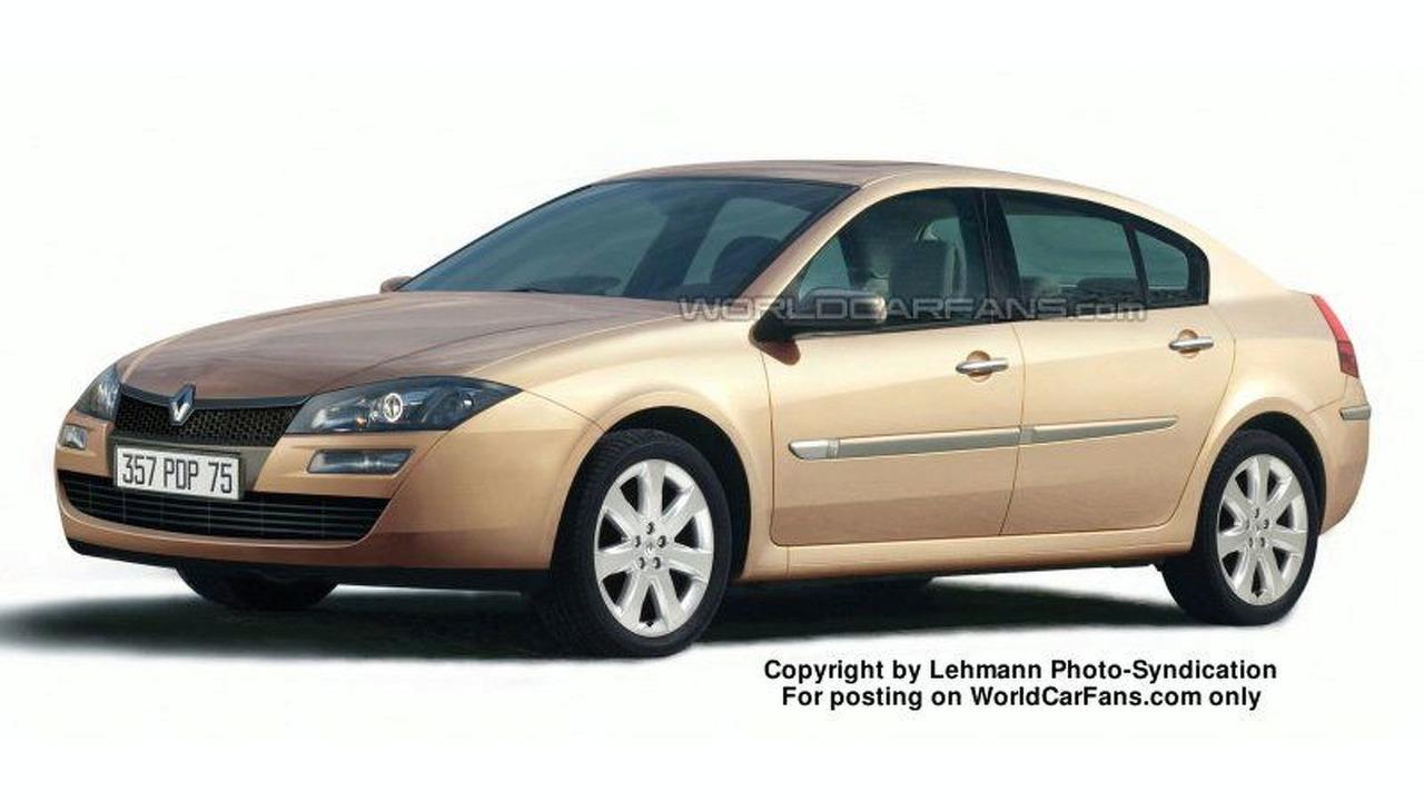 Artist Impression: Third Generation Renault Laguna
