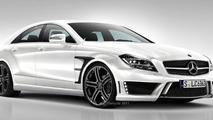 Brabus tuned CLS AMG spec. rendering by PS-Garage 30.08.2011