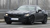 Next Generation Mercedes SLK Prototype