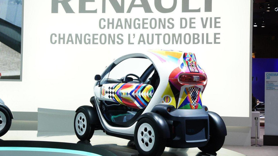 Renault Twizy production version revealed in Paris