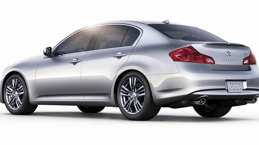 Entry-level Infiniti G25 sedan unveiled at Pebble Beach