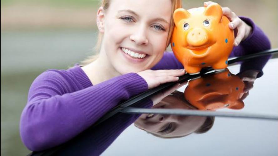 Bollo: se compri un'auto che inquina poco non lo paghi