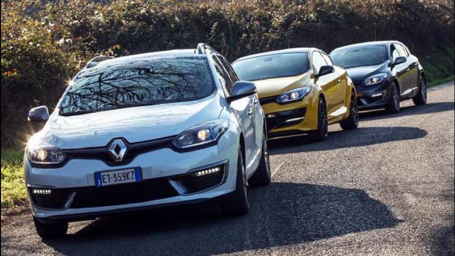 Renault Megane, un restyling sulle orme della Clio