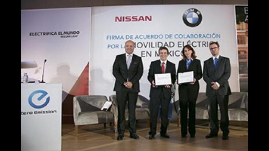 Nissan e BMW insieme per l'auto elettrica