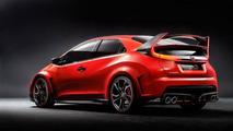 Honda Civic Type R concept leaked photo