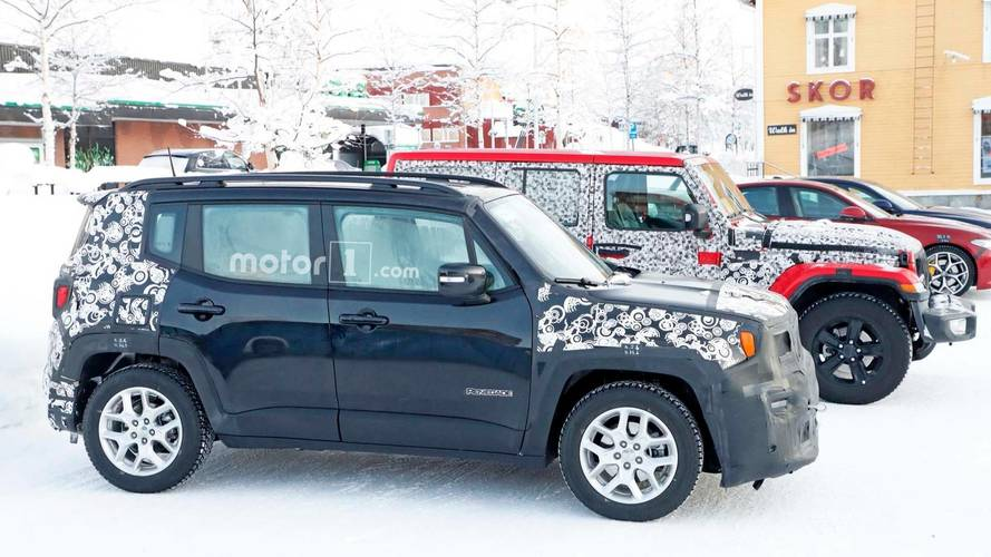 Jeep Renegade Spy Shots