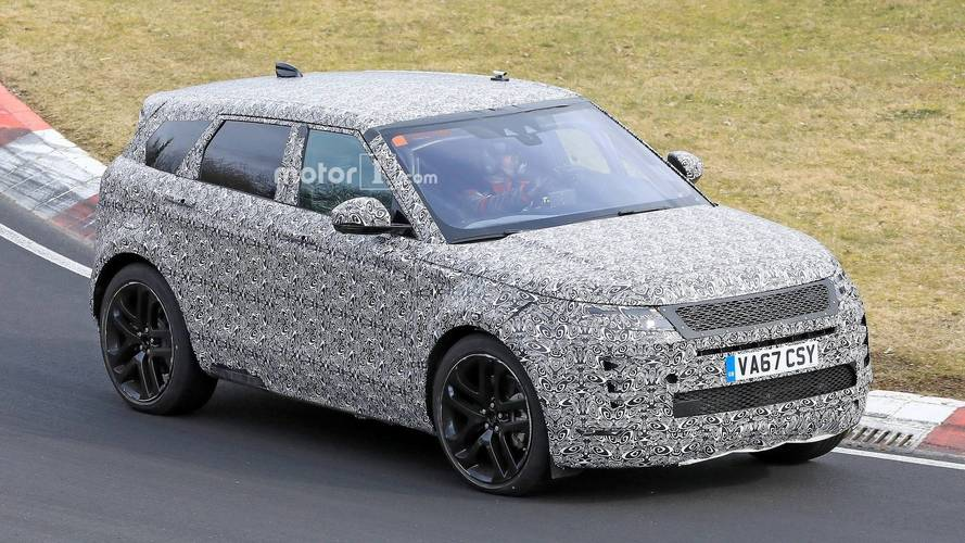 Yeni Range Rover Evoque Nürburgring'de göründü