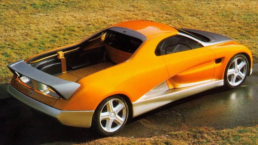 1998 Bertone BMW Pickster: Concept We Forgot