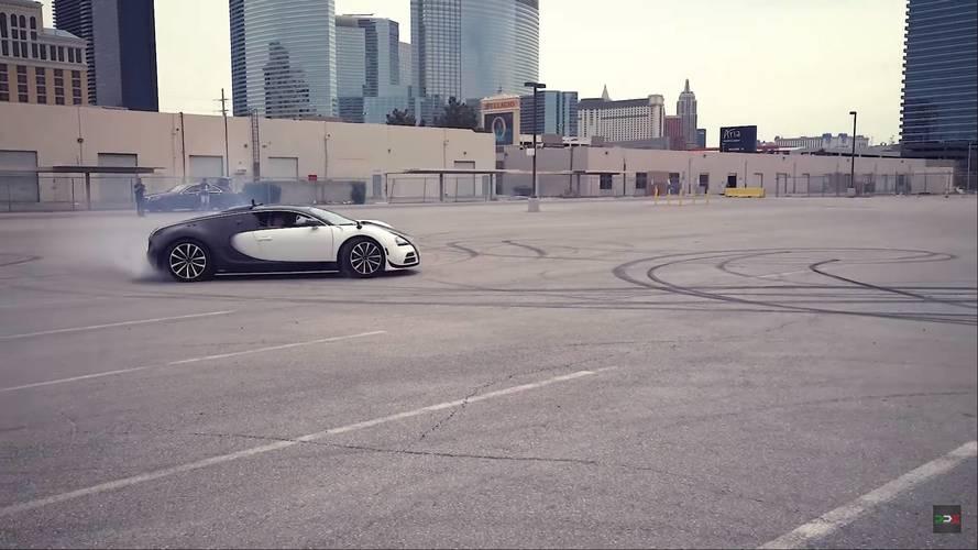 40 millió forintba kerül egy gumiégetés a Bugatti Veyron volánja mögött