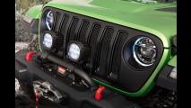 Nuova Jeep Wrangler con accessori Mopar