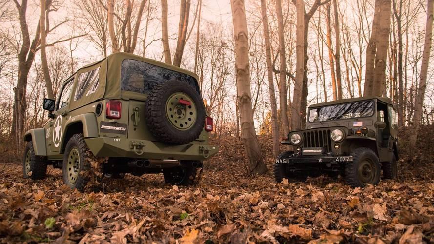 Jeep Wrangler Willys, la última genialidad de Geiger Cars