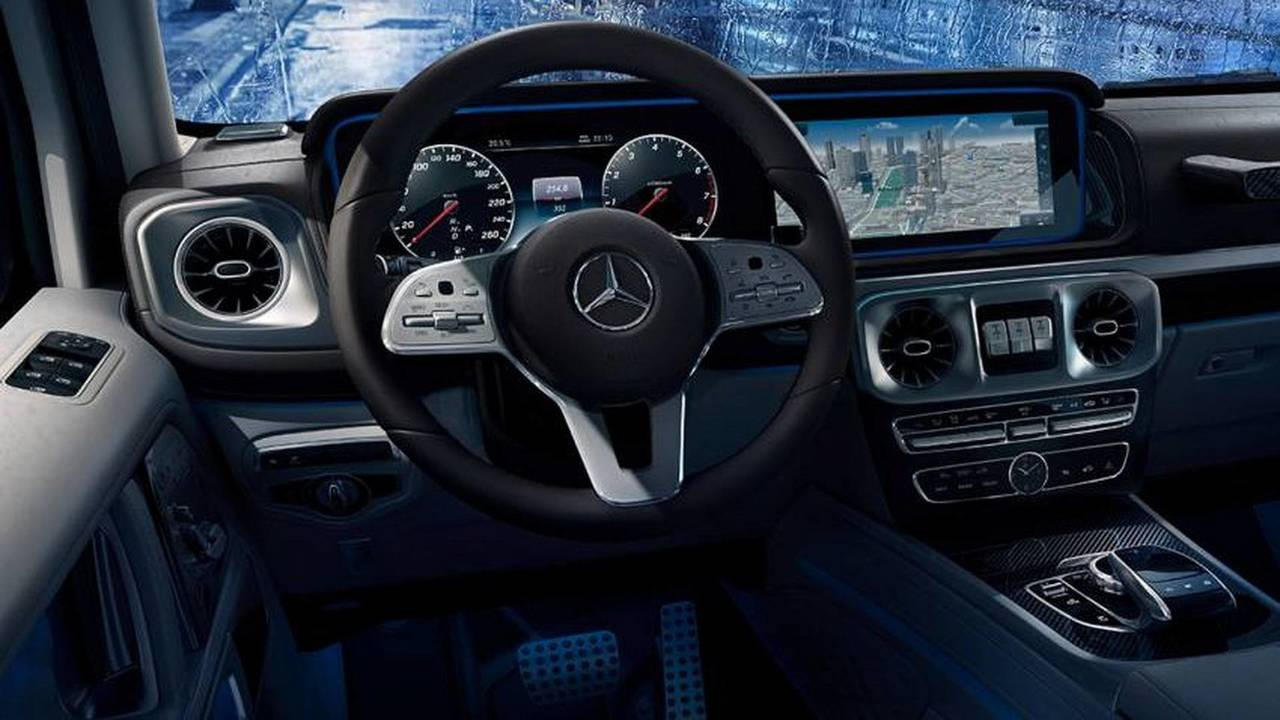 mercedes benz classe g 2019 interior fotos. Black Bedroom Furniture Sets. Home Design Ideas