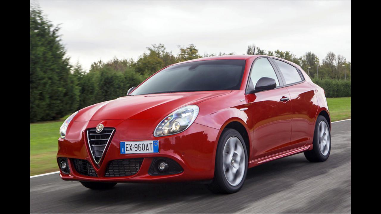 Kompaktwagen: Alfa Giulietta als zweitstärkster Verlierer