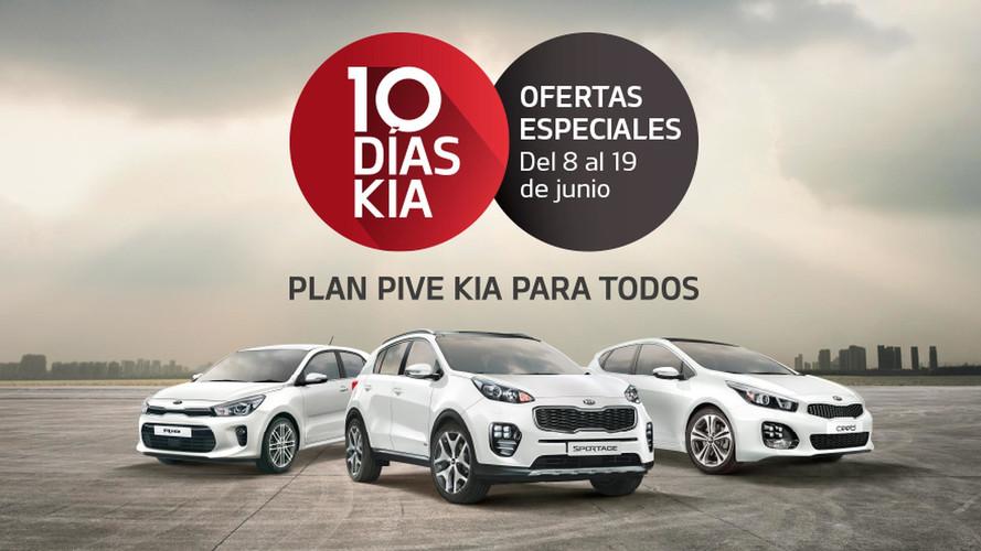Los 10 Días KIA, hasta el 19 de junio, con buenas ofertas