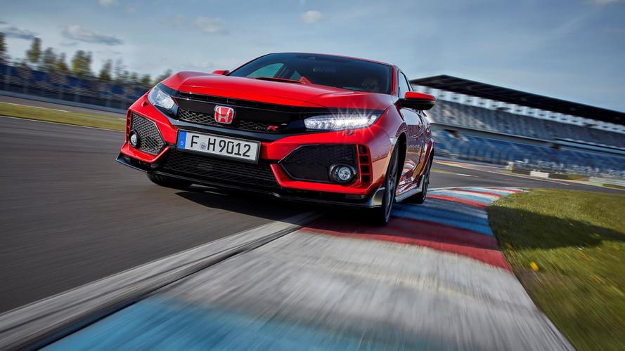 Toutes les photos et vidéos de la nouvelle Honda Civic Type R !