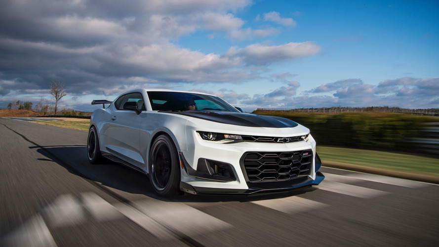 First 2018 Chevy Camaro ZL1 1LE Being Auctioned at Barrett-Jackson