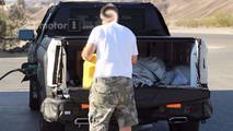 2019 Chevrolet Silverado diesel spy photo