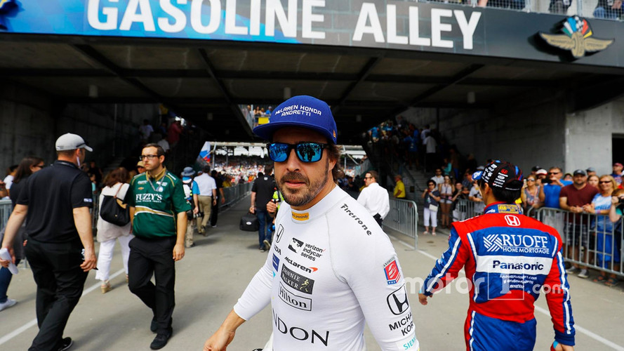 """Alonso Says """"Why Not?"""" To Fulltime IndyCar Switch"""