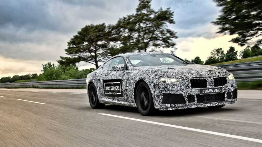 BMW M8 Already Teased By Camouflaged Prototypes