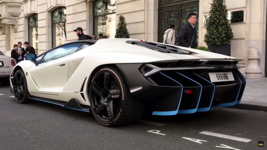 Lamborghini Centenario On The Streets Photo