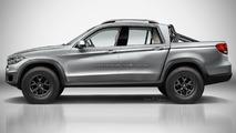 BMW pickup tasarım yorumu