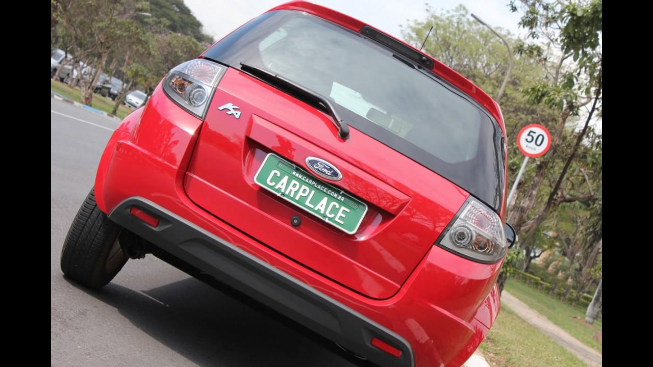 Garagem CARPLACE: Detalhes do visual do Ford KA 2012