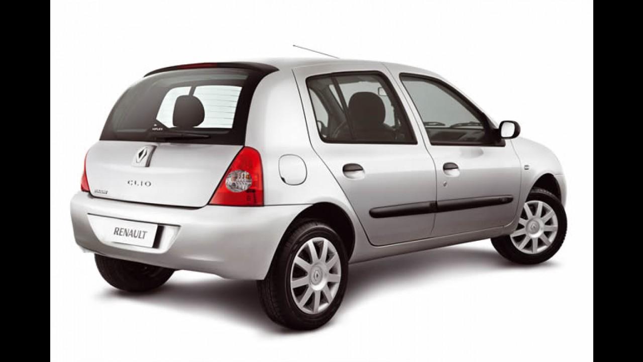 Renault lança Clio 2012 com retoques mínimos - Preços começam em R$ 22.900