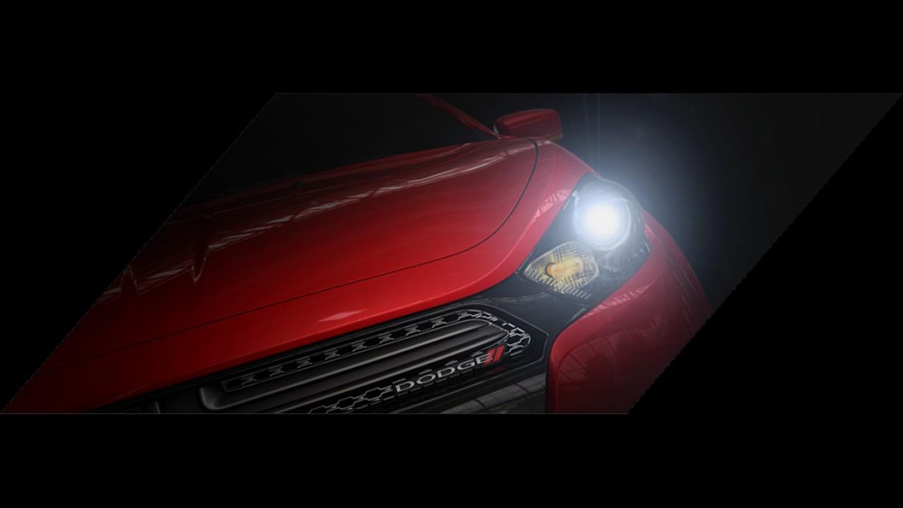 Dodge divulga primeiros teasers do novo sedã Dart