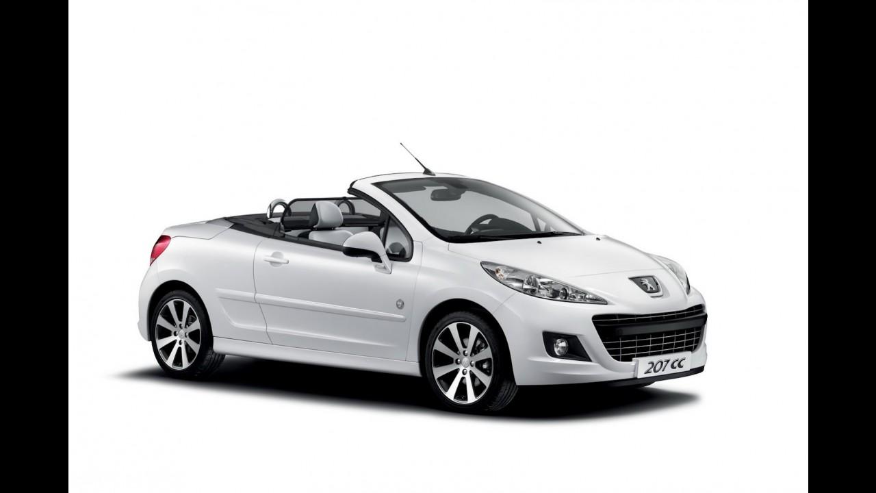 Peugeot lança edição especial Roland Garros para os conversíveis 207 CC e 308 CC na Europa