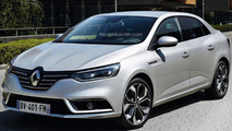 Renault Megane sedan confirmed for 2016 debut