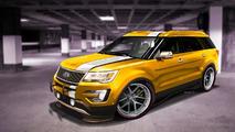Ford Explorer Sport concept for Sema