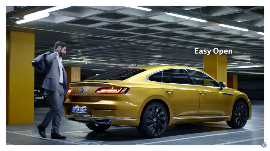 Vidéo - La Volkswagen Arteon en mouvement
