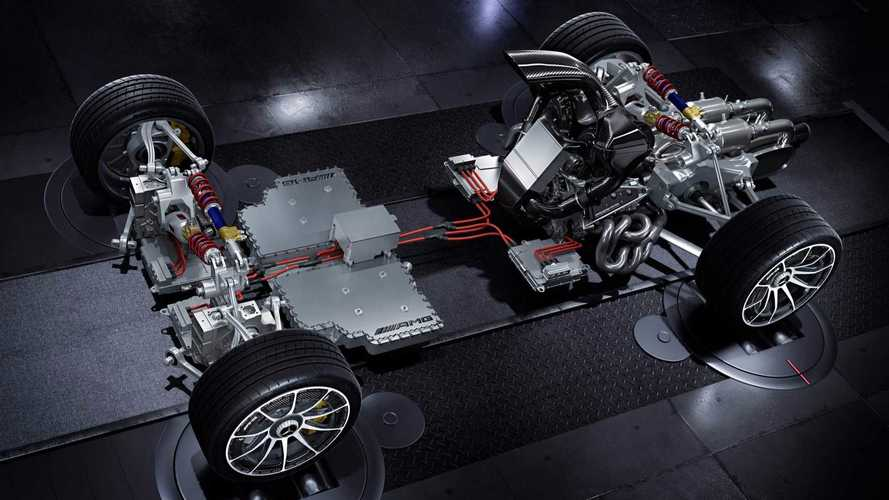 Mercedes-AMG Project One se desnuda ao público. Literalmente