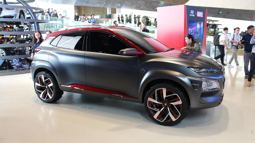 Oh Good, There's Already A Hyundai Kona Iron Man Edition
