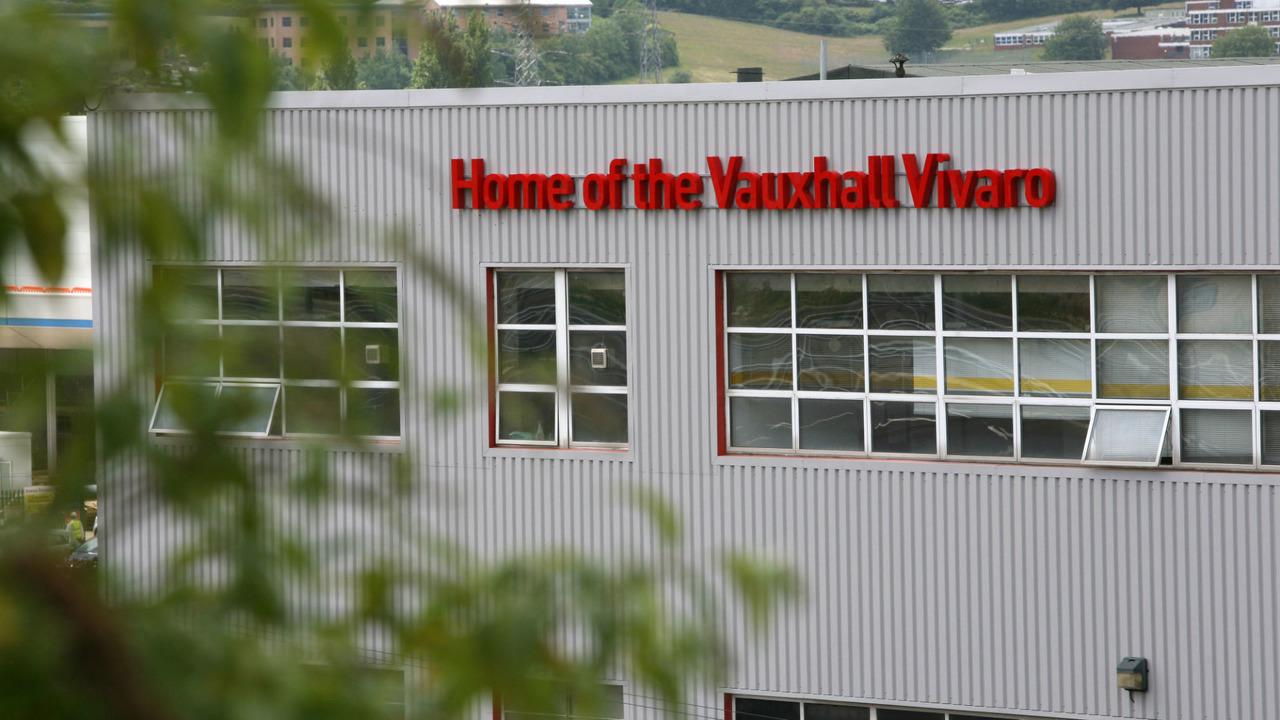 Vauxhall car production