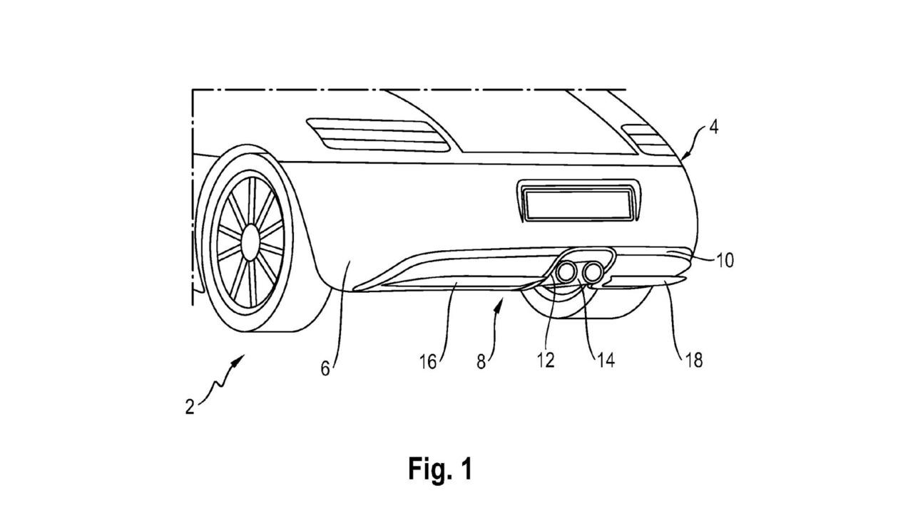 Porsche Active Diffuser Patent