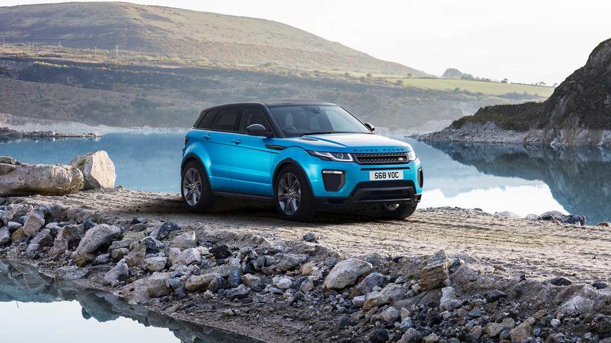 Range Rover Evoque - Une édition spéciale en cadeau d'anniversaire
