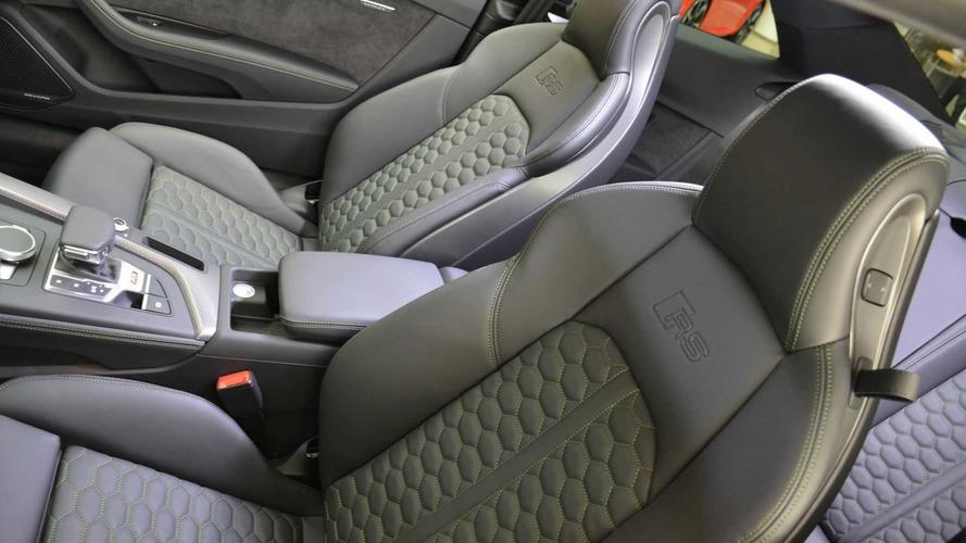 Audi RS5 in Sonomagrun Metallic
