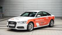 Audi A6 2.0 TDI ultra world record attempt car