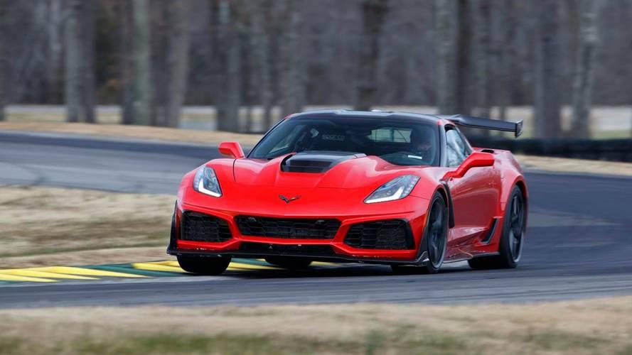 Corvette ZR1, Ford GT'nin taze VIR rekorunu kırdı!