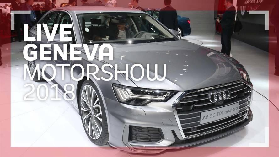 Genève 2018 - La nouvelle Audi A6 en vidéo